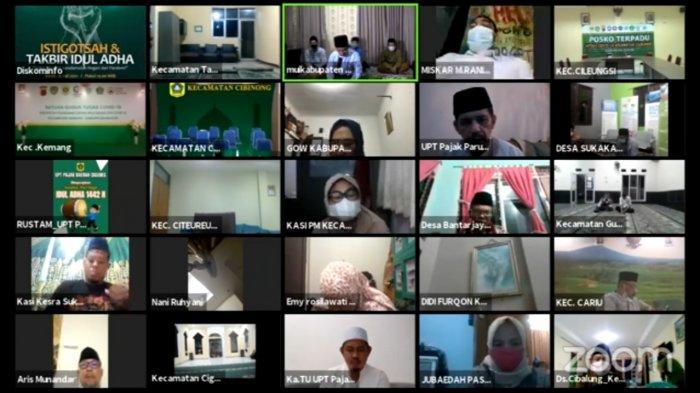 Pemkab Bogor Gelar Istighosah dan Takbir Idul Adha Virtual, Bupati : Semoga Pandemi Segera Berakhir