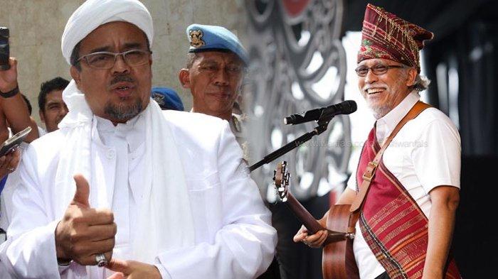 Berkicau Soal Kerinduan, Iwan Fals Tanyakan Kapan Rizieq Shihab Pulang