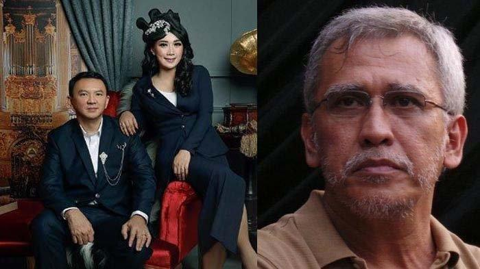 Lihat Foto Pernikahan Ahok dan Puput, Iwan Fals Heran Ada 'Penampakan' di Bagian Tengah Potret