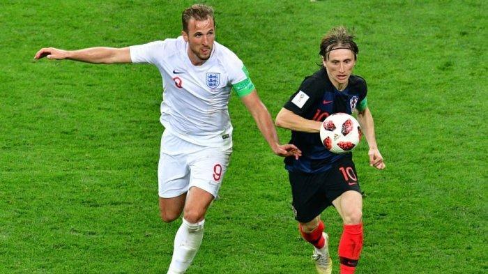Jadwal Euro 2020 Grup D Inggris vs Kroasia : Luka Modric Siap Ladeni Harry Kane