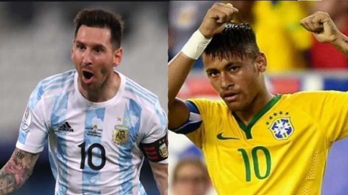 JADWAL final Copa America 2021, Argentina vs Brasil, duel panas Messi vs Neymar