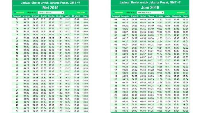 Jadwal Imsakiyah dan Azan Magrib, Kamis 15 April 2021 Wilayah Bogor dan Sekitarnya Versi Kemenag