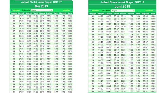 Jadwal Imsak dan Azan Subuh Rabu 14 April 2021 untuk Wilayah Jabodetabek, Hari ke-2 Ramadhan 2021