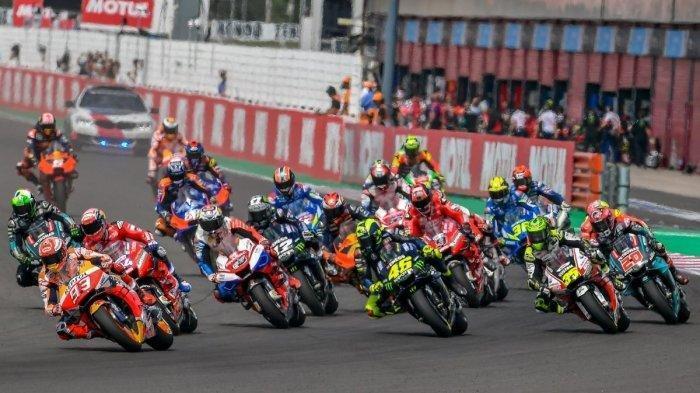 Live Streaming dan Jam Tayang MotoGP Catalunya 2020 - Rossi Start Ketiga, Morbidelli Terdepan