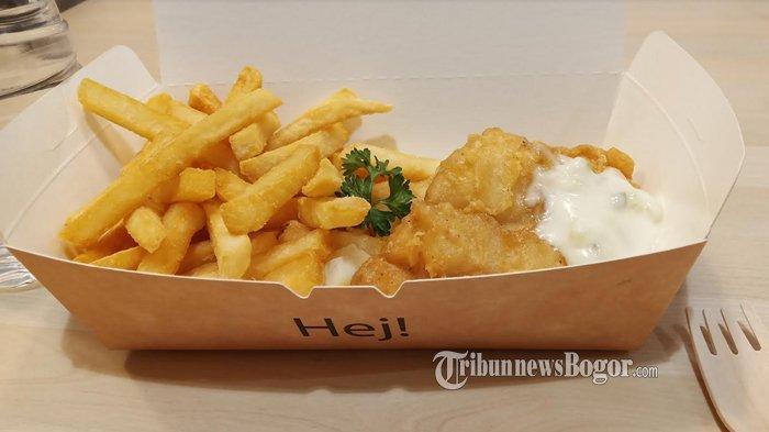 Dikenal Mahal, Jajanan Fish and Chips di Tempat Ini Tak Bikin Kantong Jebol