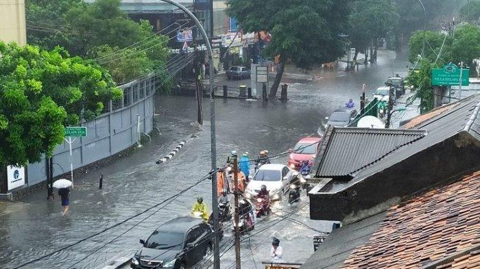 Jakarta Banjir Lagi, Genangan di Sejumlah Wilayah Mulai Surut