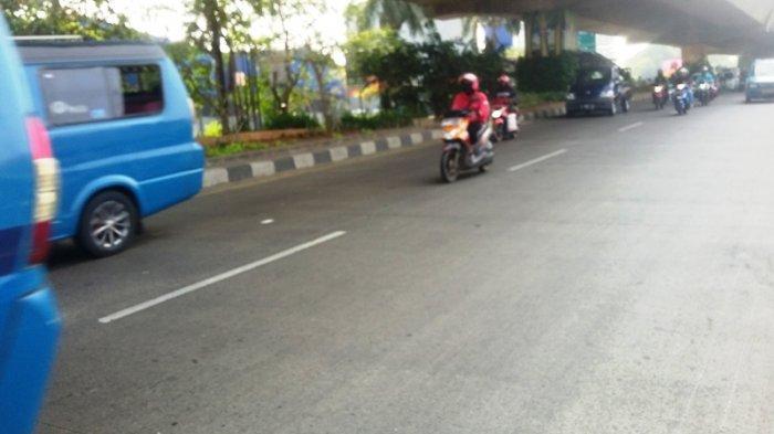 Lalu Lintas Jalan Sholeh Iskandar Bogor Lancar ke Arah Yasmin Jelang Siang