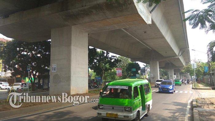 Minggu Siang Ini Arus Lalu Lintas di Jalan Sholeh Iskandar Ramai Lancar