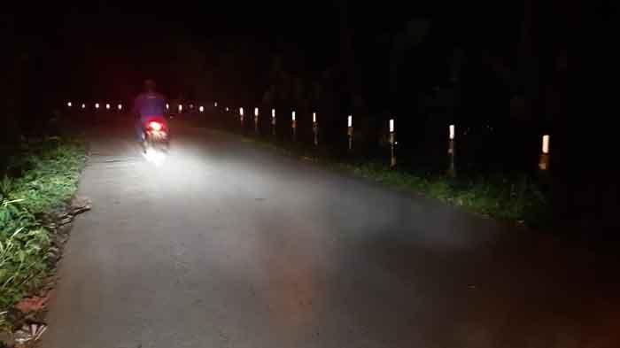 Gelap Gulita, Jalan di Tamansari Bogor Rawan Begal, Perawatan PJU Terkendala BBM