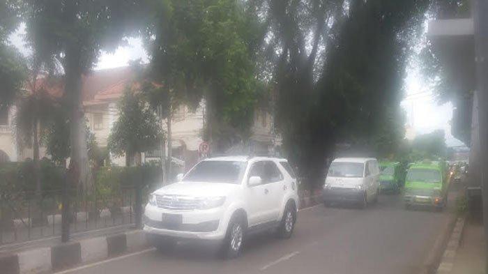 Update Lalu Lintas Dari Arah Stasiun Bogor, Jalan Kapten Muslihat Ramai Lancar