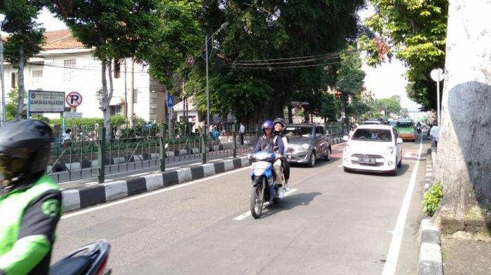 Info Lalu Lintas - Jalan Kapten Muslihat Bogor Lancar dari Kedua Arah