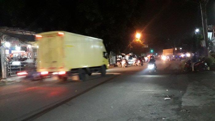 Info Lalin: Jalan Karadenan Cibinong Malam Ini Ramai Lancar