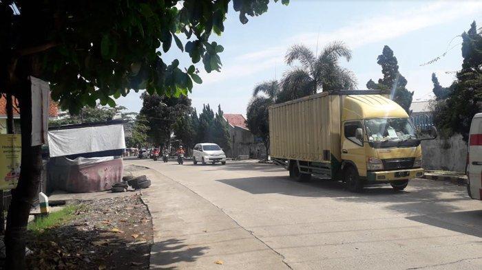 Lalu Lintas di Jalan Kedung Halang Kota Bogor Saat Ini Ramai Lancar, Cuaca Terpantau Cerah