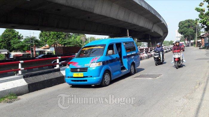 Laju Kendaraan di Jalan KH Sholeh Iskandar Pagi Ini Ramai Lancar