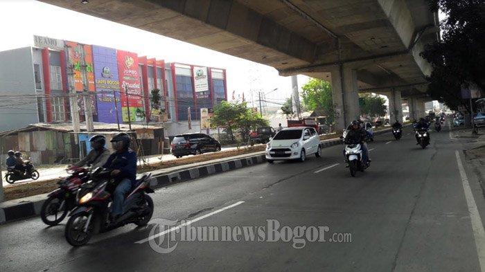 INFO LALU LINTAS : Jalan Sholeh Iskandar Pagi Ini Ramai Lancar di Kedua Arah