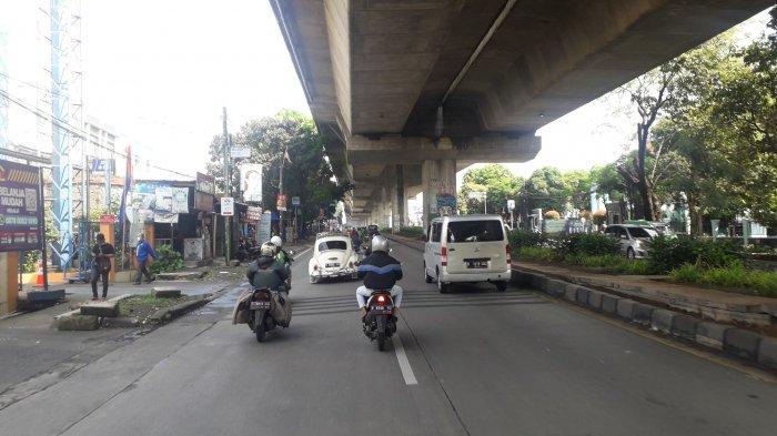 Lalu Lintas di Jalan KH Soleh Iskandar Kota Bogor Saat Ini Ramai Lancar