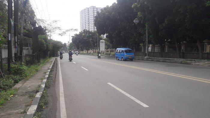Arus Kendaraan di Jalan KS Tubun Kota Bogor Saat Ini Ramai Lancar, Cuaca Cerah