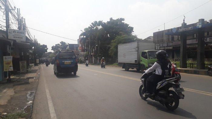 Lalu Lintas di Jalan KS Tubun Kota Bogor Siang Ini Ramai Lancar, Cuaca Cerah