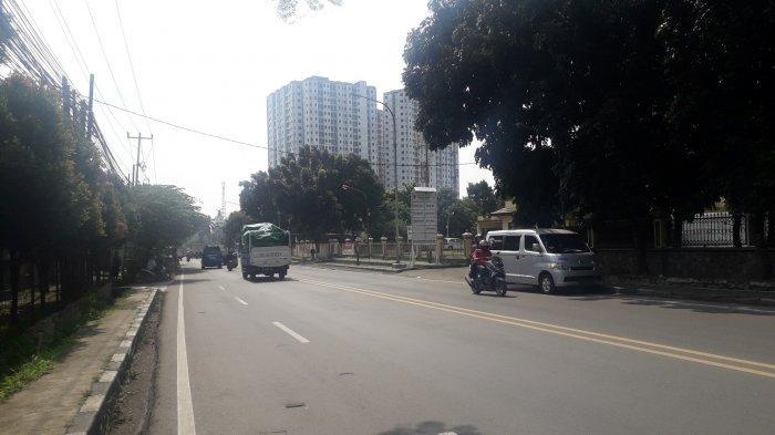Lalu Lintas di Jalan KS Tubun Kota Bogor Saat Ini Ramai Lancar, Cuaca Cerah