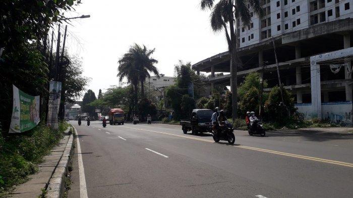 INFO LALIN : Jalan KS Tubun Kota Bogor Jelang Siang Ini Ramai Lancar