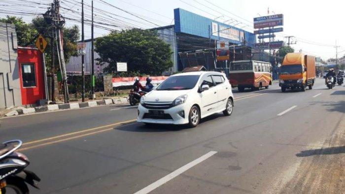 Selasa Pagi, Jalan KS Tubun Bogor Masih Lancar Arah Cibinong
