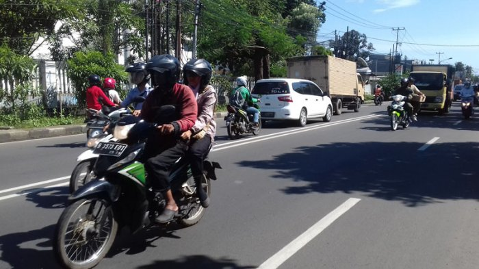 Jumat Pagi, Jalan KS Tubun Bogor Lancar
