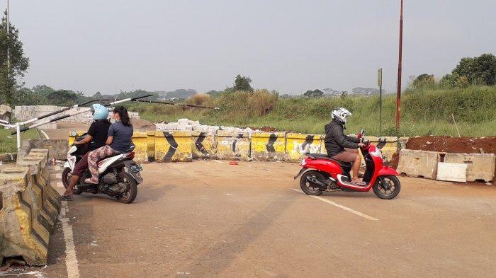 Jalan Lingkar Stadion Pakansari Cibinong Bogor Tak Kunjung Dibuka untuk Kendaraan, Ini Kata Dishub