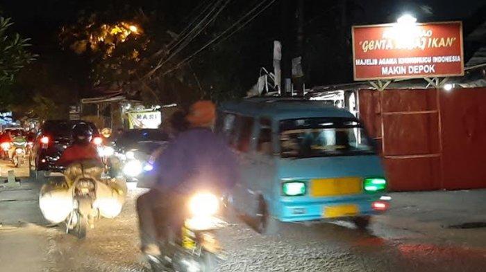 Info Lalu Lintas - Malam Ini Jalan Raya Pitara Menuju Bojonggede Lancar