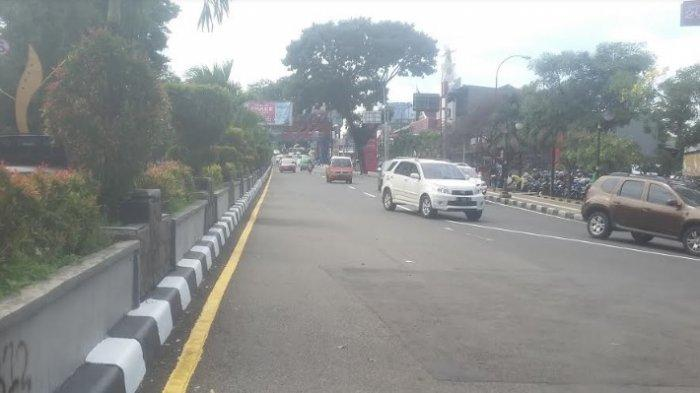 Kendaraan di Jalan Pajajadan Arah Balailota Bogor Lancar Tanpa Hambatan
