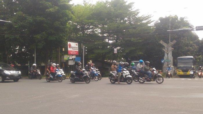 Laju Kendaraan Menuju Botani Square Bogor Lancar di Simpang Bantarjati