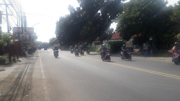 Update Lalu Lintas - Jalan KS Tubun Kota Bogor Terpantau Lancar, Cuaca Cerah