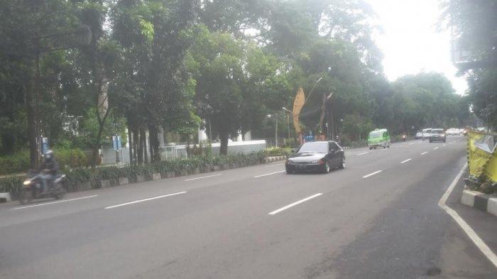 Cuaca Mendung, Arus Lalu Lintas Jalan Pajajaran Bogor Lancar