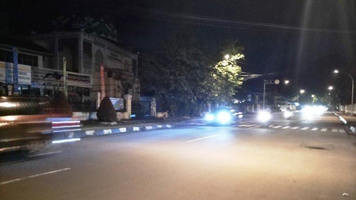 Ini Kondisi Lalu Lintas di Jalan Pemuda Kota Bogor Pukul 22.00 WIB