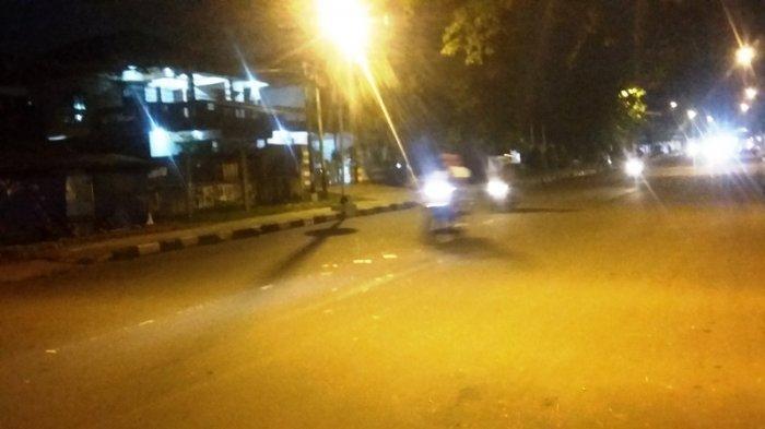 Lalu Lintas di Jalan Pemuda Kota Bogor Malam Ini Terpantau Lancar