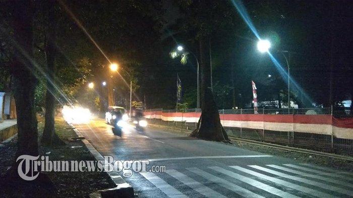 Jalan Pemuda Arah Simpang Jambu Dua Malam Ini Ramai Lancar
