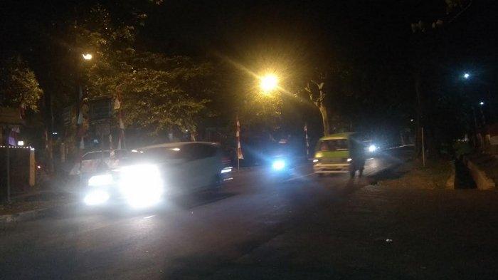 Arus Lalu Lintas di Jalan Pemuda arah Simpang Jambu Dua Ramai Lancar