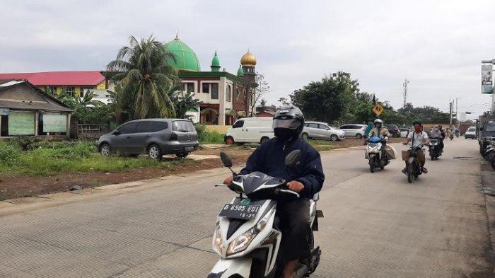 Lalu Lintas Jalan Raya Bambu Kuning Bojonggede Arah Citayam saat Ini Lancar