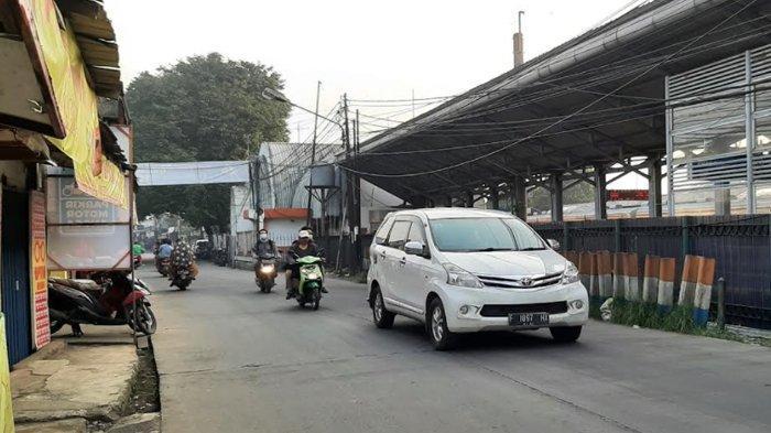 Pagi Ini Jalan Raya Bojonggede Bogor Tanpa Hambatan