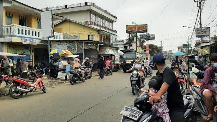 Pagi Ini Jalan Raya Bojonggede Ramai Lancar di Kedua Arah