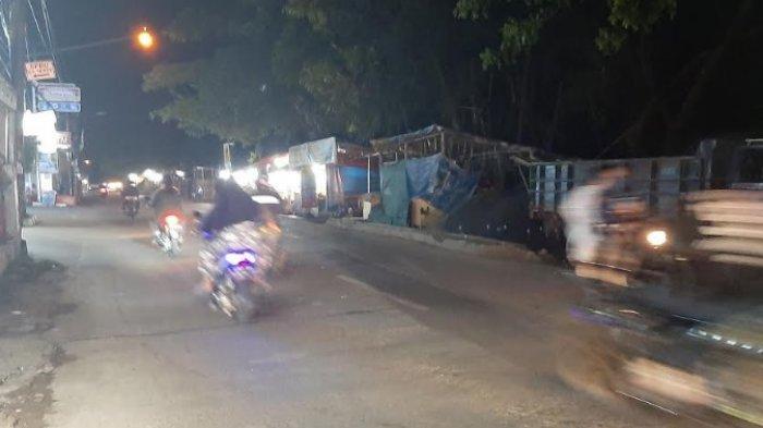 Jalan Raya Cipayung Menuju Bojonggede Malam Ini Tak Ada Hambatan