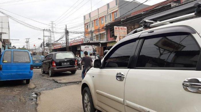 Pagi Ini Jalan Raya Citayam Dari Arah Bojonggede Menuju Depok Ramai Lancar