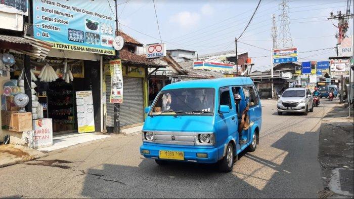Jalan Raya Citayam Menuju Bojonggede Bogor Lancar Kedua Arah