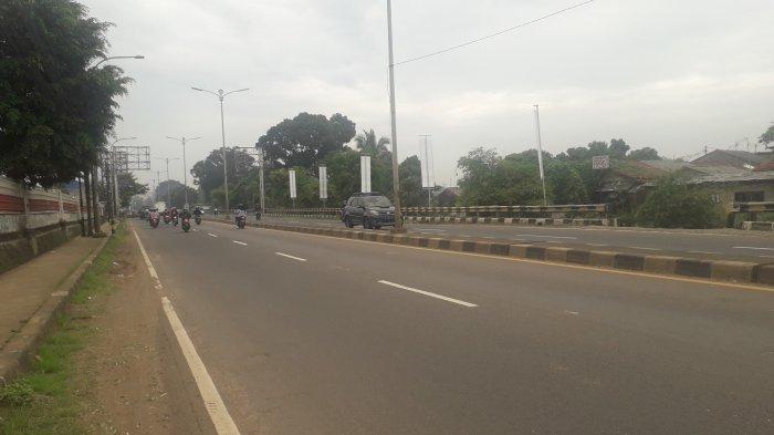 Laju Kendaraan di Jalan Raya Jakarta-Bogor Kawasan Sukaraja Pagi Ini Ramai Lancar