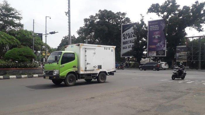 Lalu Lintas Kendaraan di Simpang CCM Saat Ini Ramai Lancar