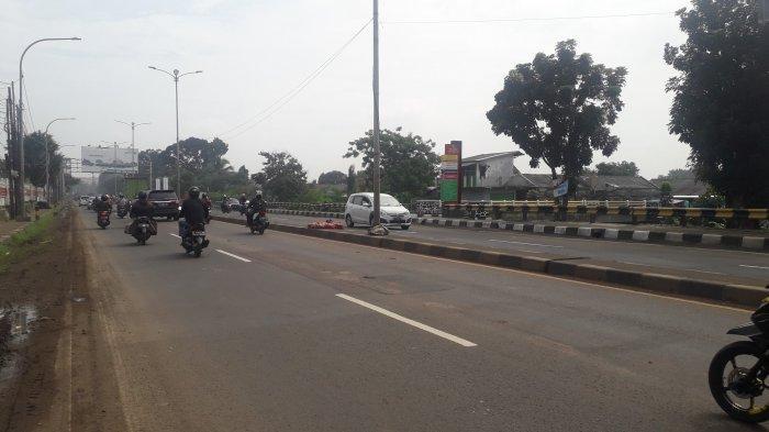 INFO Lalu Lintas: Jalan Raya Jakarta-Bogor Kawasan Sukaraja Ramai Lancar