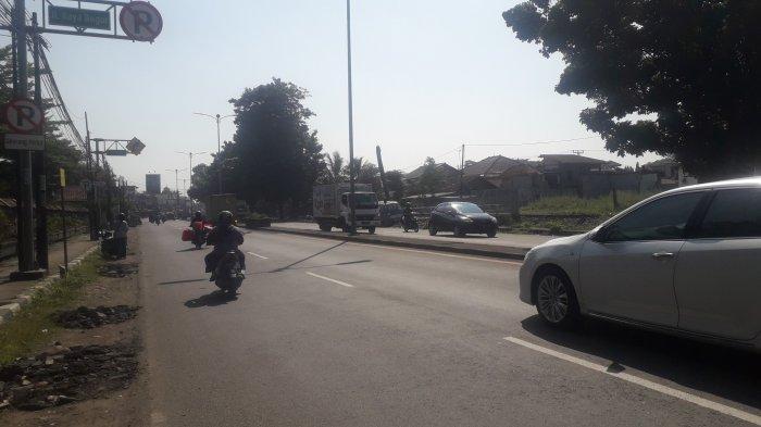 INFO LALIN Pukul 10.00 WIB: Jalan Raya Jakarta - Bogor Kawasan Sukaraja Saat Ini Ramai Lancar