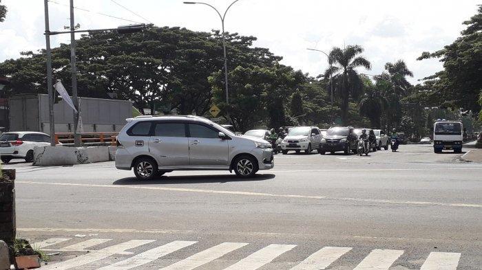 INFO LALU LINTAS - Kondisi di Simpang Sentul Bogor Jumat 7 Februari 2020