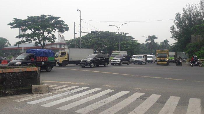 INFO LALU LINTAS - Pagi Ini Simpang Sentul Bogor Ramai Lancar