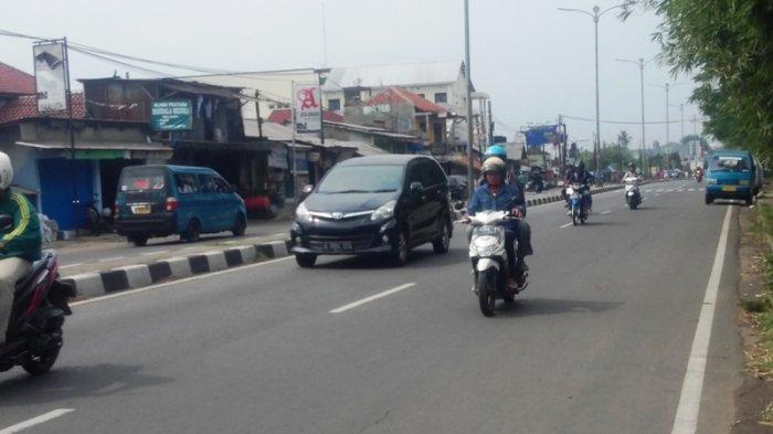 Kendaraan Dari Arah Cibinong Bergerak Lancar Menuju Simpang Pomad Bogor