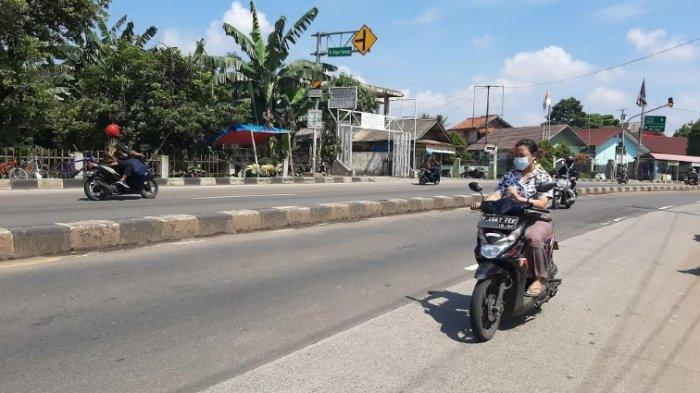 Jelang Siang, Jalan Raya Kemang Bogor Tak Ada Hambatan